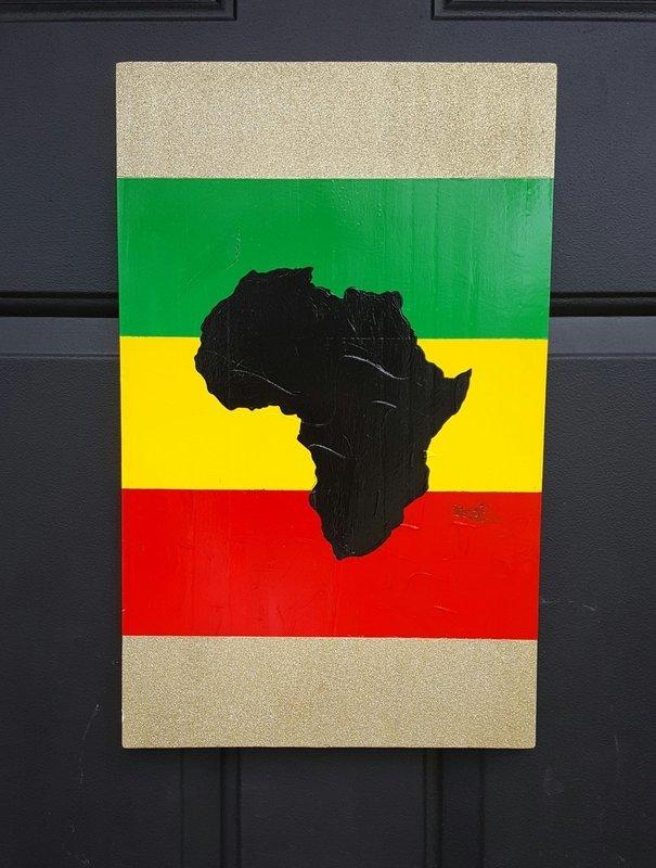 Africa Door Sign