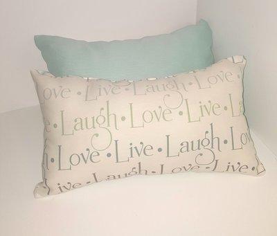 Live, Laugh, Love Pillow Set (2pc)