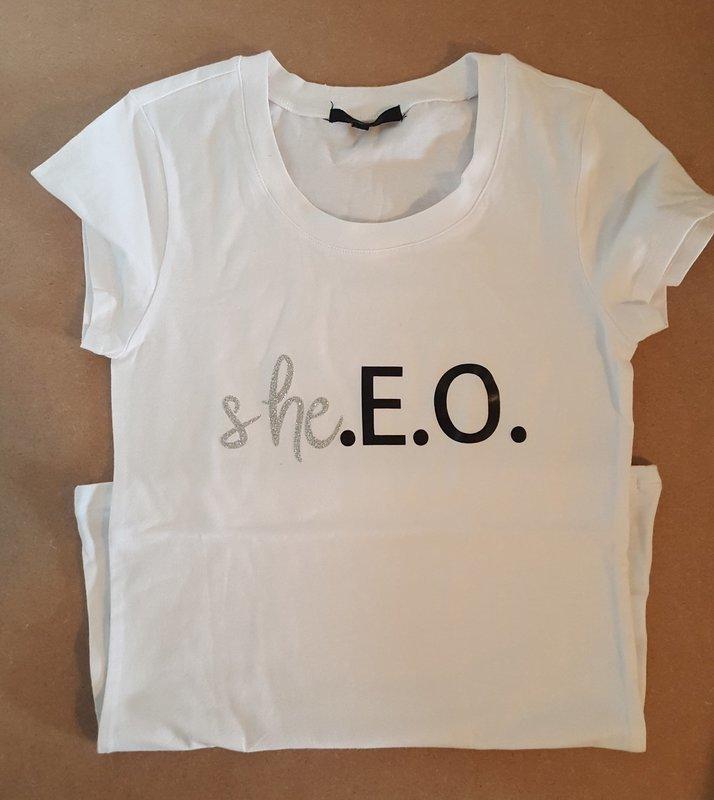 she.E.O. T-shirt