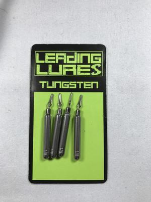 1/8 oz Tungsten Dropshot Weight - 4 Count