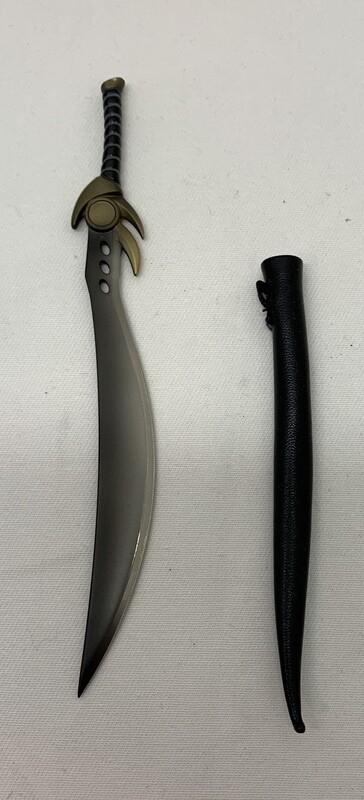 Loose Part- Snow Soldier Metal Sword w/sheath