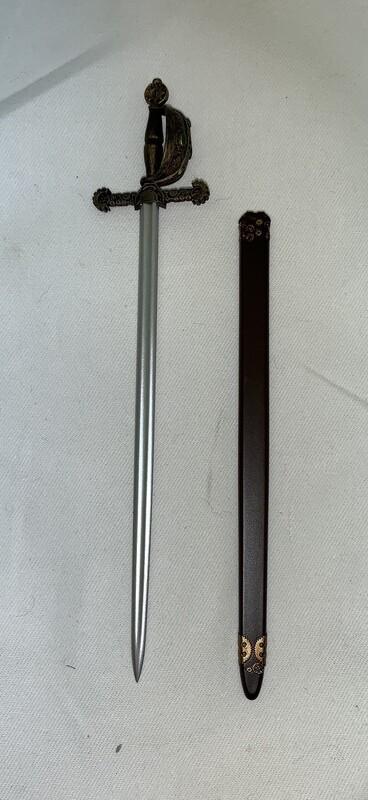 Loose Item:  Steampunk Red Sonja Cutlass Styled Sword (plastic) w/sheath