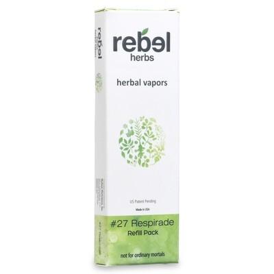 #27 Respirade Herbal Vapor Refill Cartridge