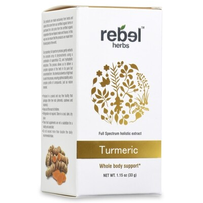 Turmeric dual extracted powder