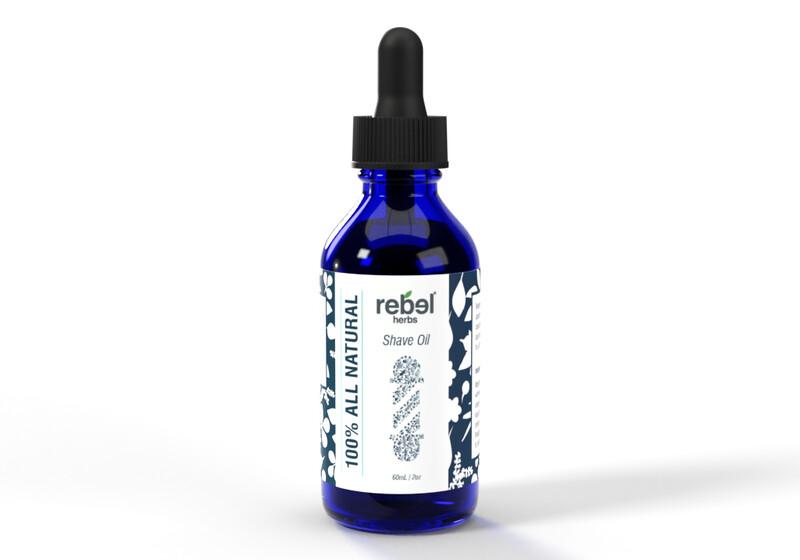 #47 Rebel Shave Oil - 2 oz