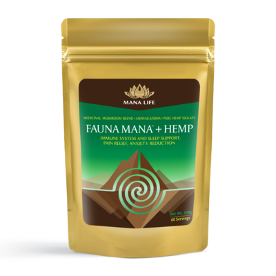 Fauna Mana™ + Hemp 100 gr