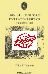 *LIMITED STOCK* Pre-1841 Censuses & Population Listings in the British Isles