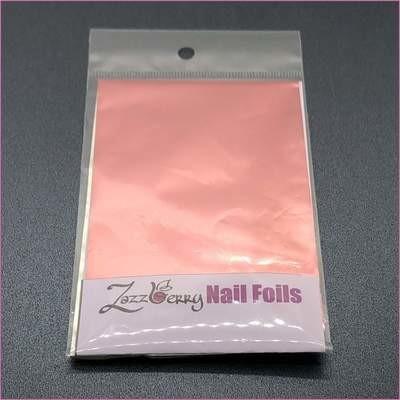 Salmon Pink Foil