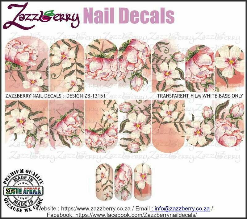 Pink Hand Drawn Flowers
