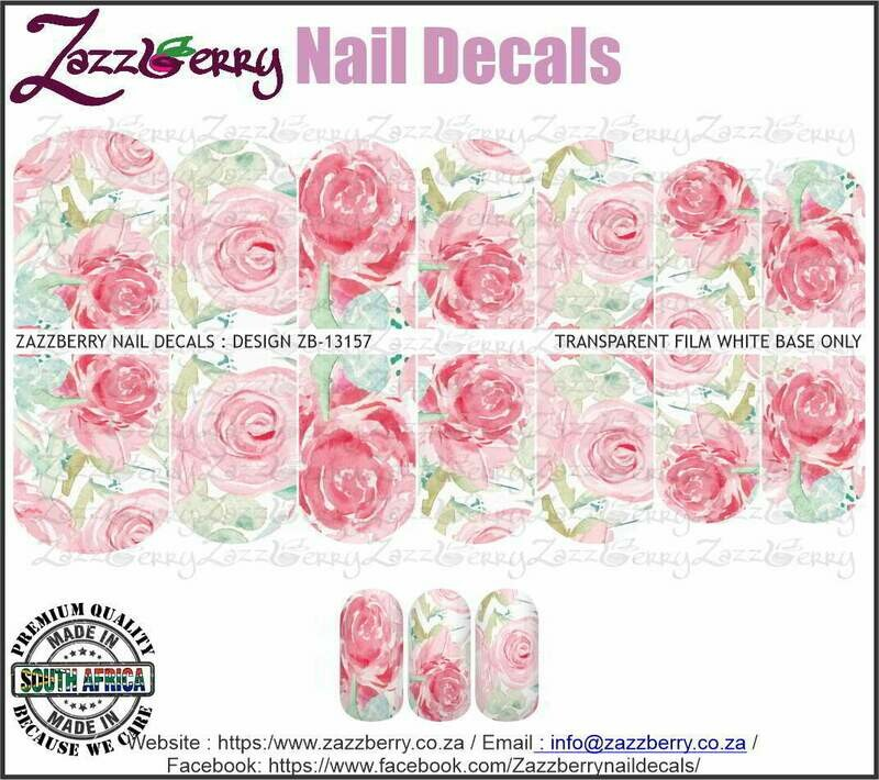 Pink Water Color Roses
