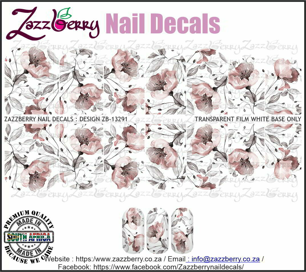 Pink Blooms Hand drawn