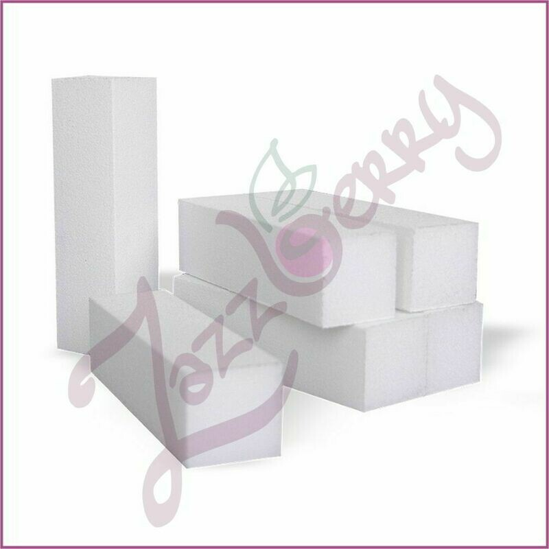 Block Buffer White (singles)