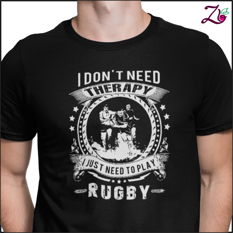 I don't need Therapy , I just need to play Rugby