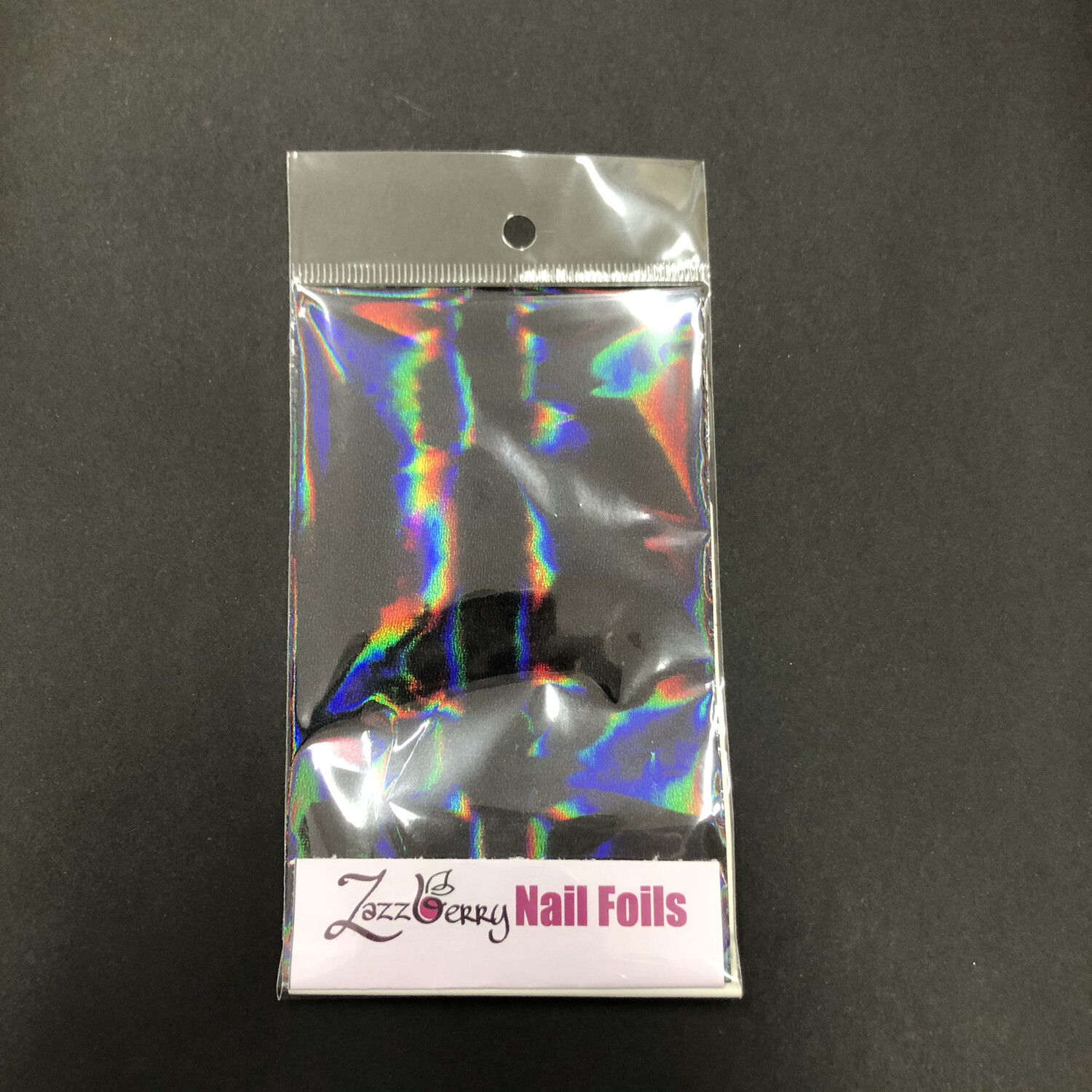 Black Holographic Foil