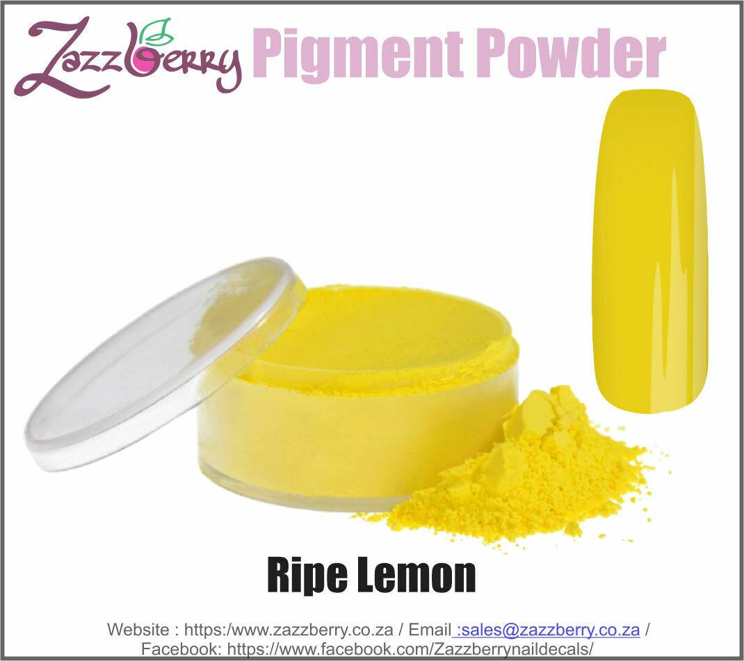 Ripe Lemon Pigment Powder (10g)