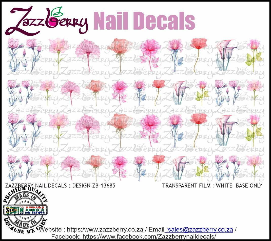 Pink Pressed Flowers