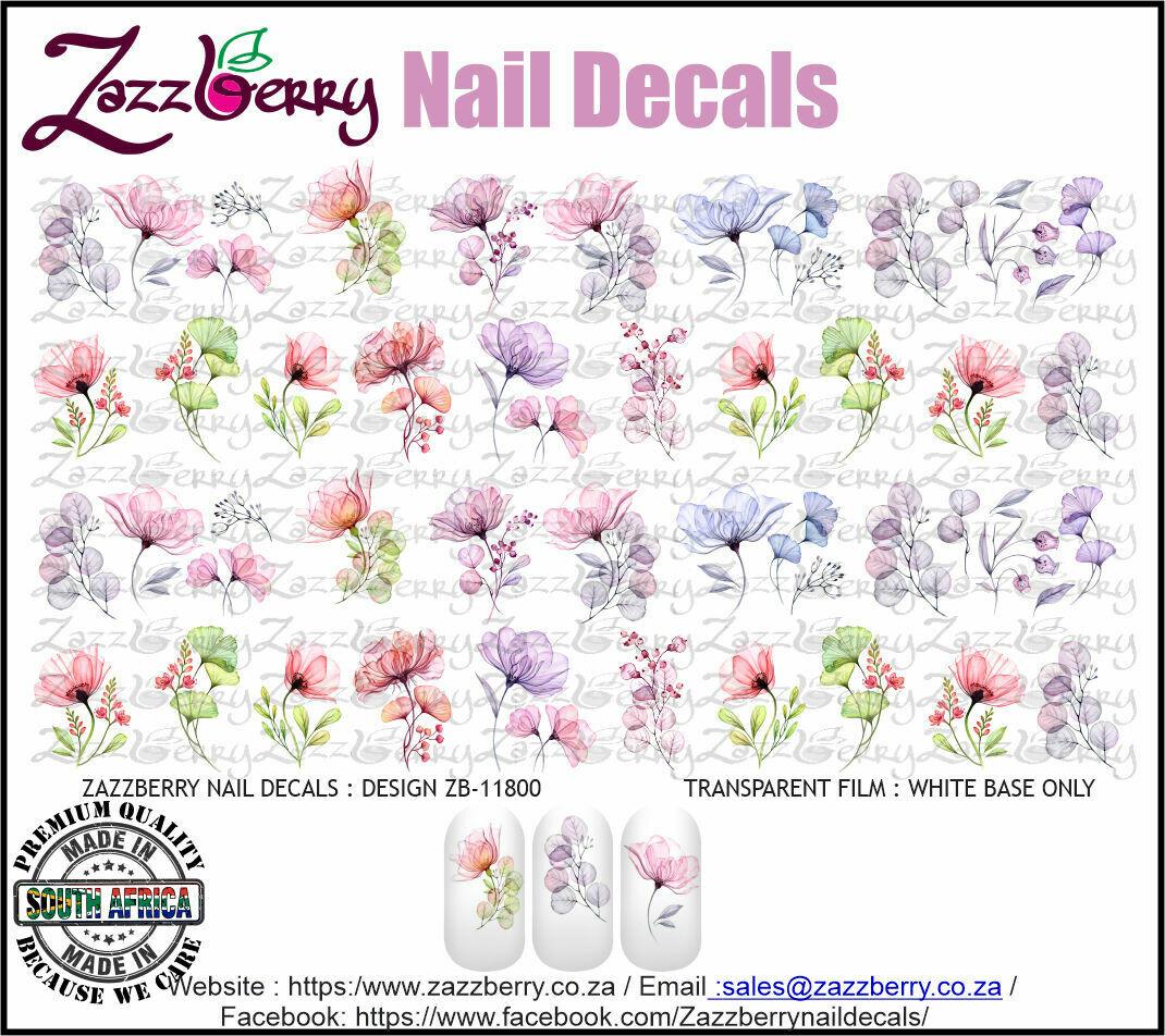 Pastel Pressed Flowers