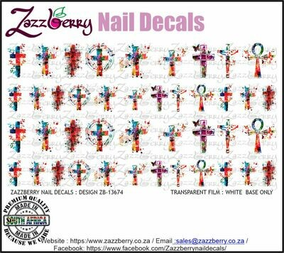 Aquarelle Crosses