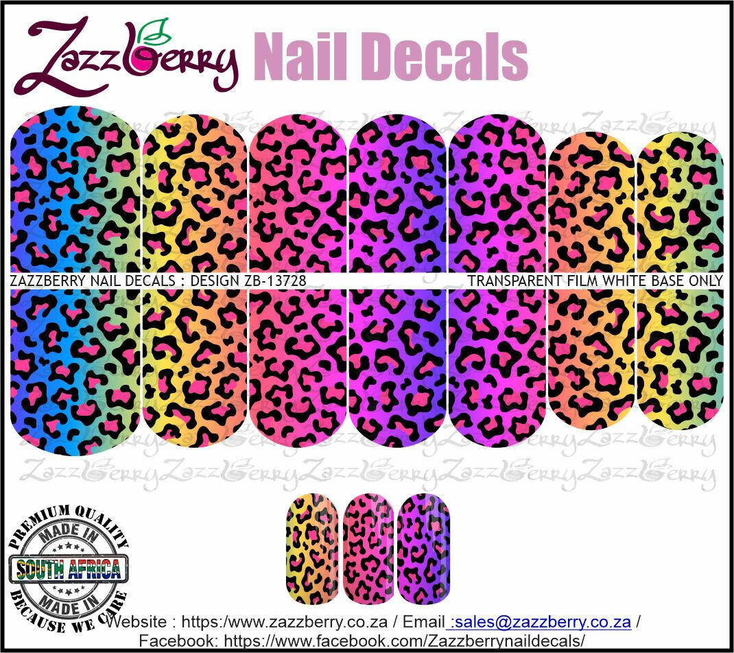 Rainbow Leopard Print