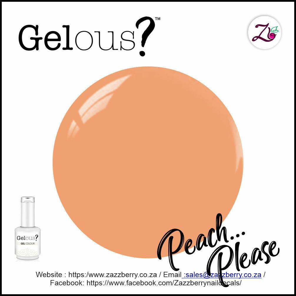 Peach... Please