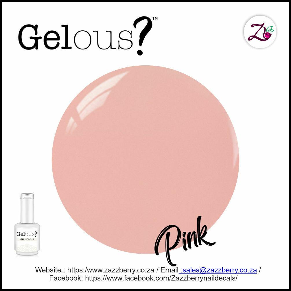 Rubber Base Gel - Pink