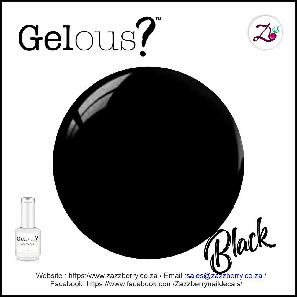 Rubber Base Gel - Black