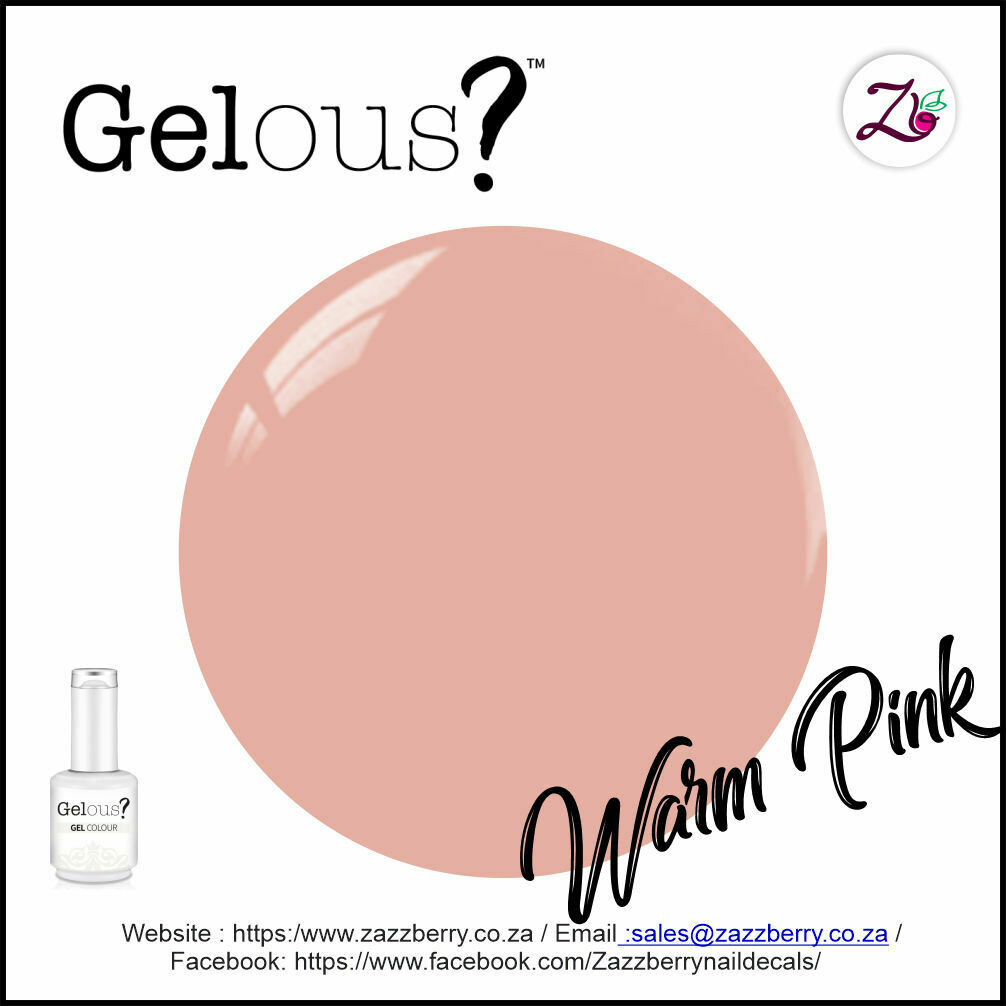 Rubber Base Gel - Warm Pink