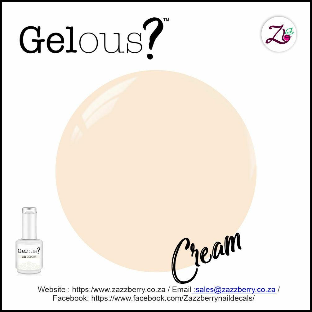 Rubber Base Gel - Cream