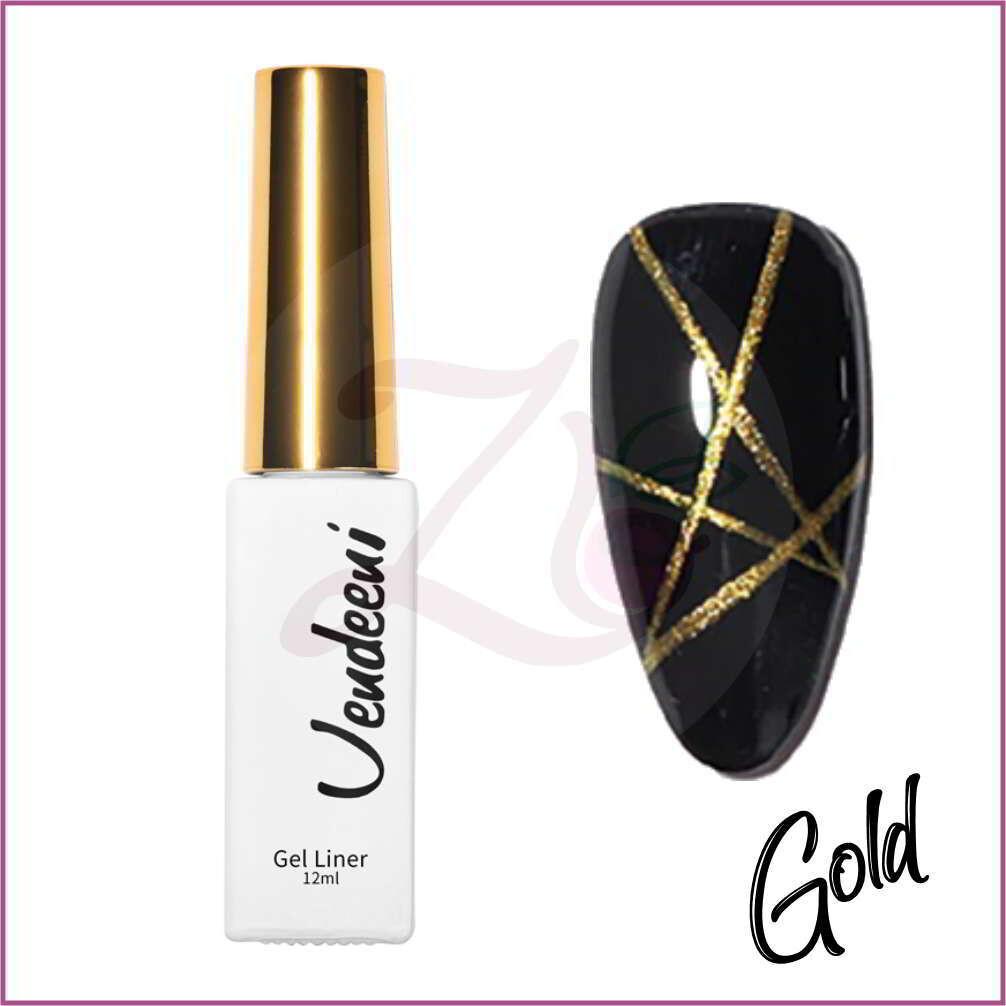 Liner Gel Polish (12ml) - Gold