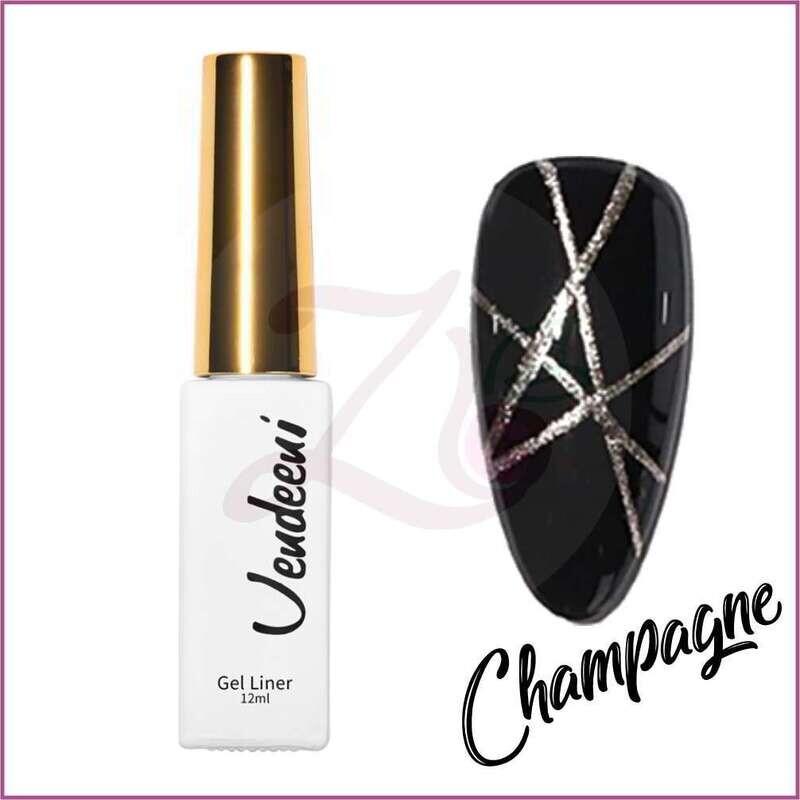 Champagne Liner Gel Polish (12ml)