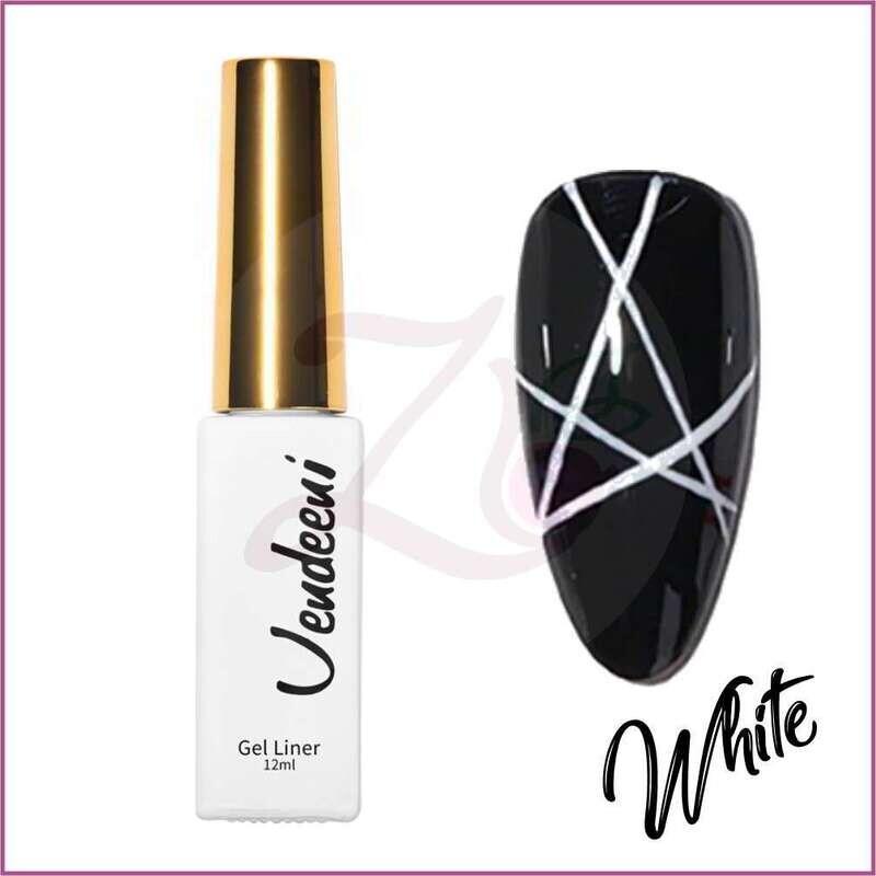 White Liner Gel Polish (12ml)