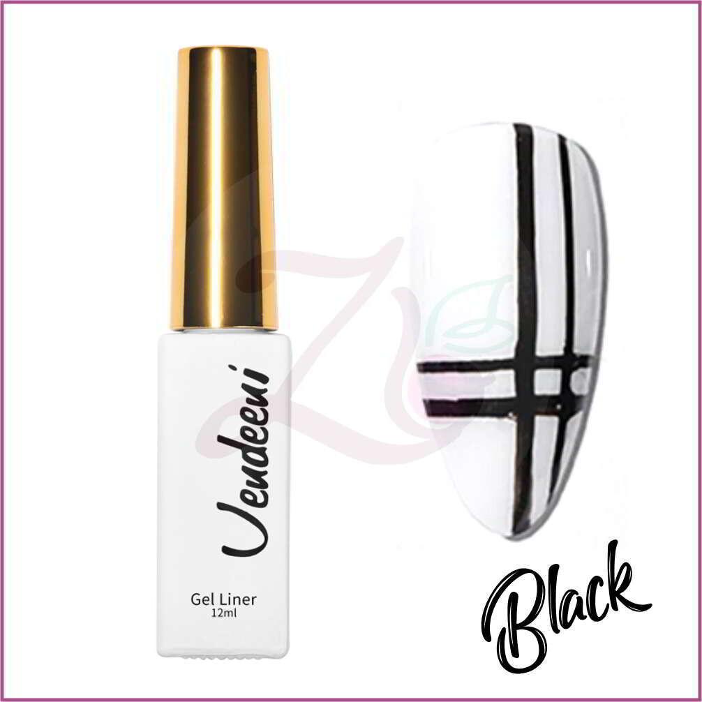 Liner Gel Polish (12ml) - Black