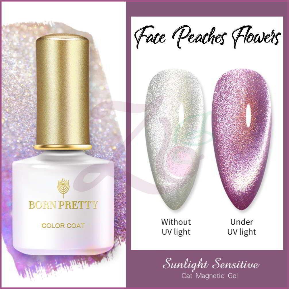 Sunlight Sensitive Cat Magnetic Gel  (6ml) - Peaches & Flowers