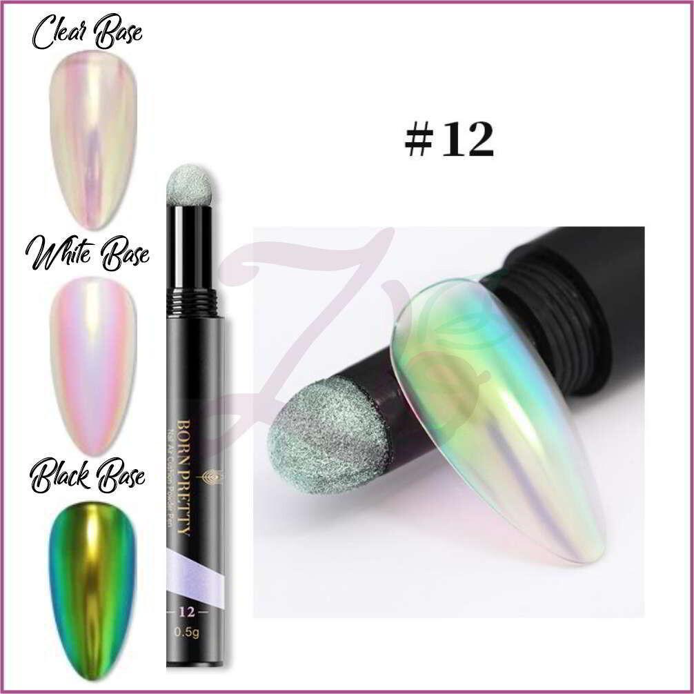 Mirror Nail Powder Cushion Pen - 12