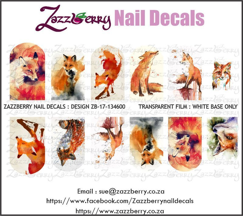 Fox : Water Colour Foxes