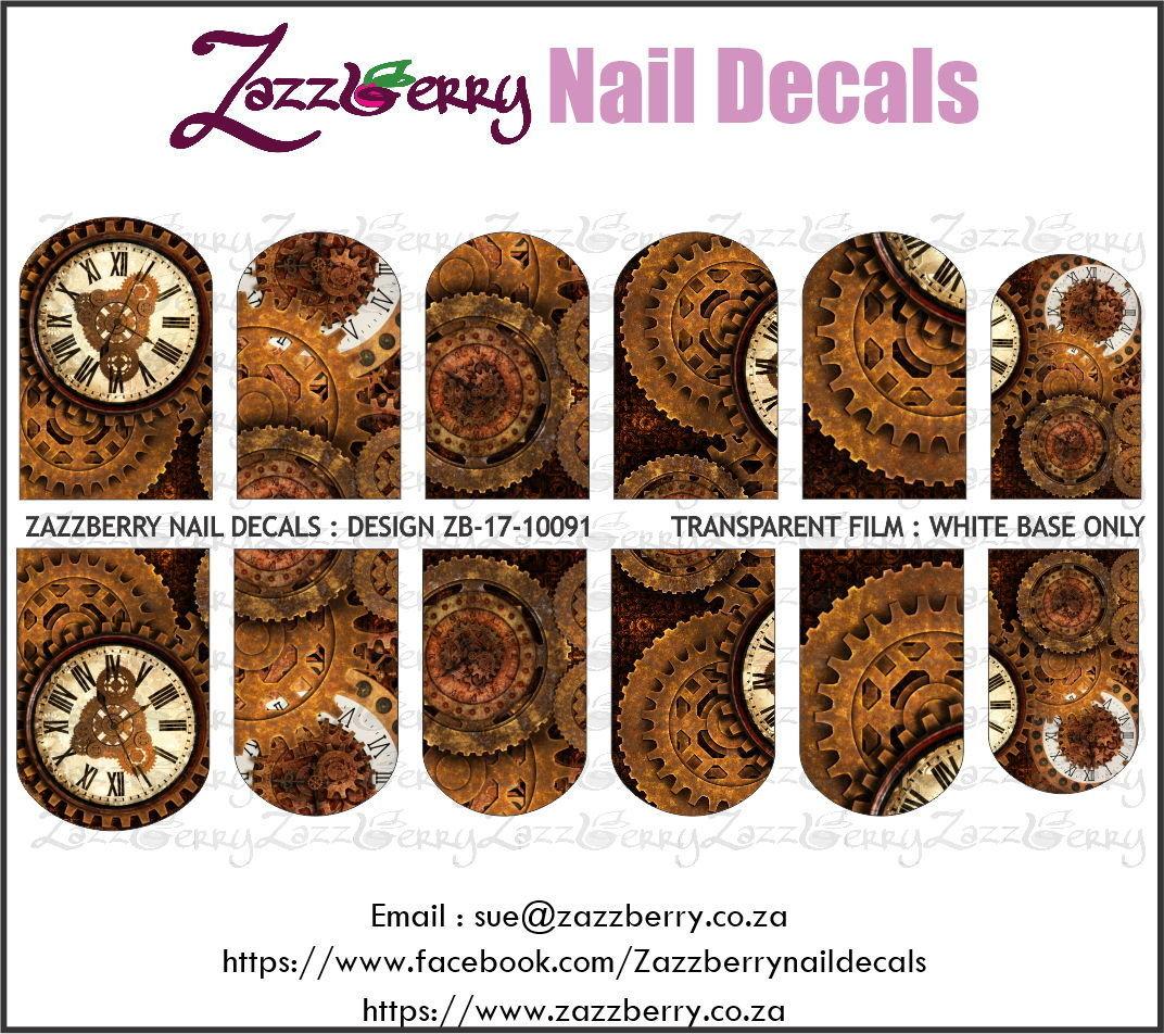 Steampunk  : Rusty Gears and Clock