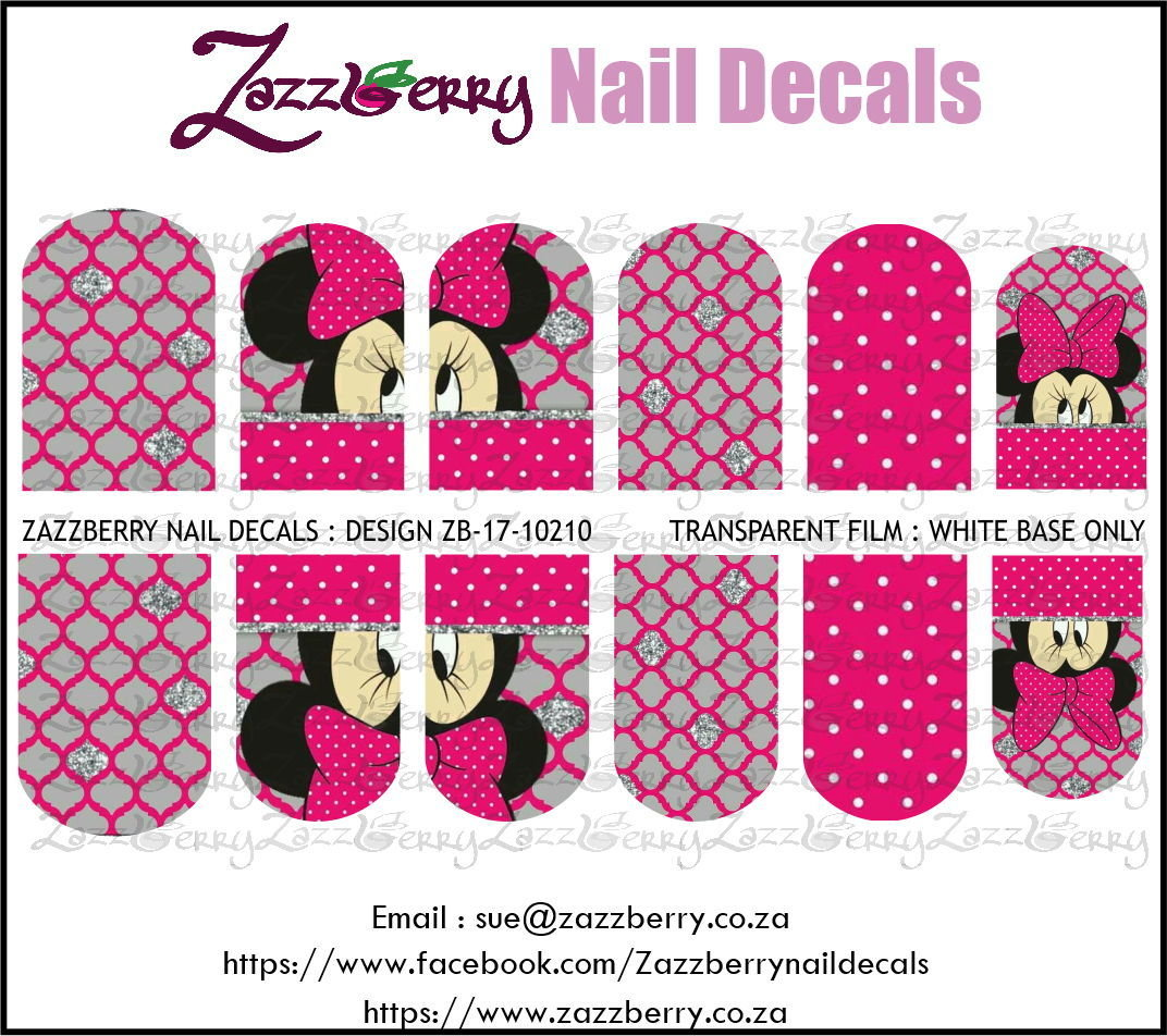 Minnie Mouse wth Pattern
