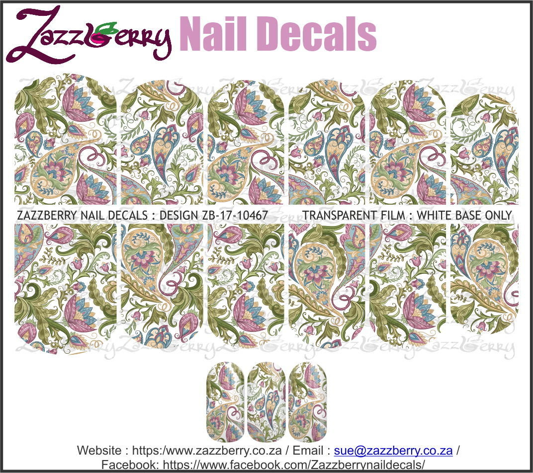 Paisley : Purple and Green