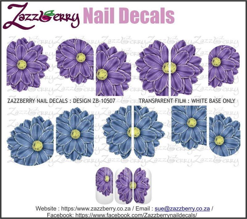 Flowers :  Blue and Purple Single Flower