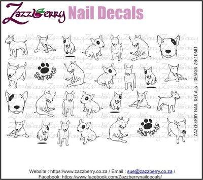 Bull Terrier Sketches