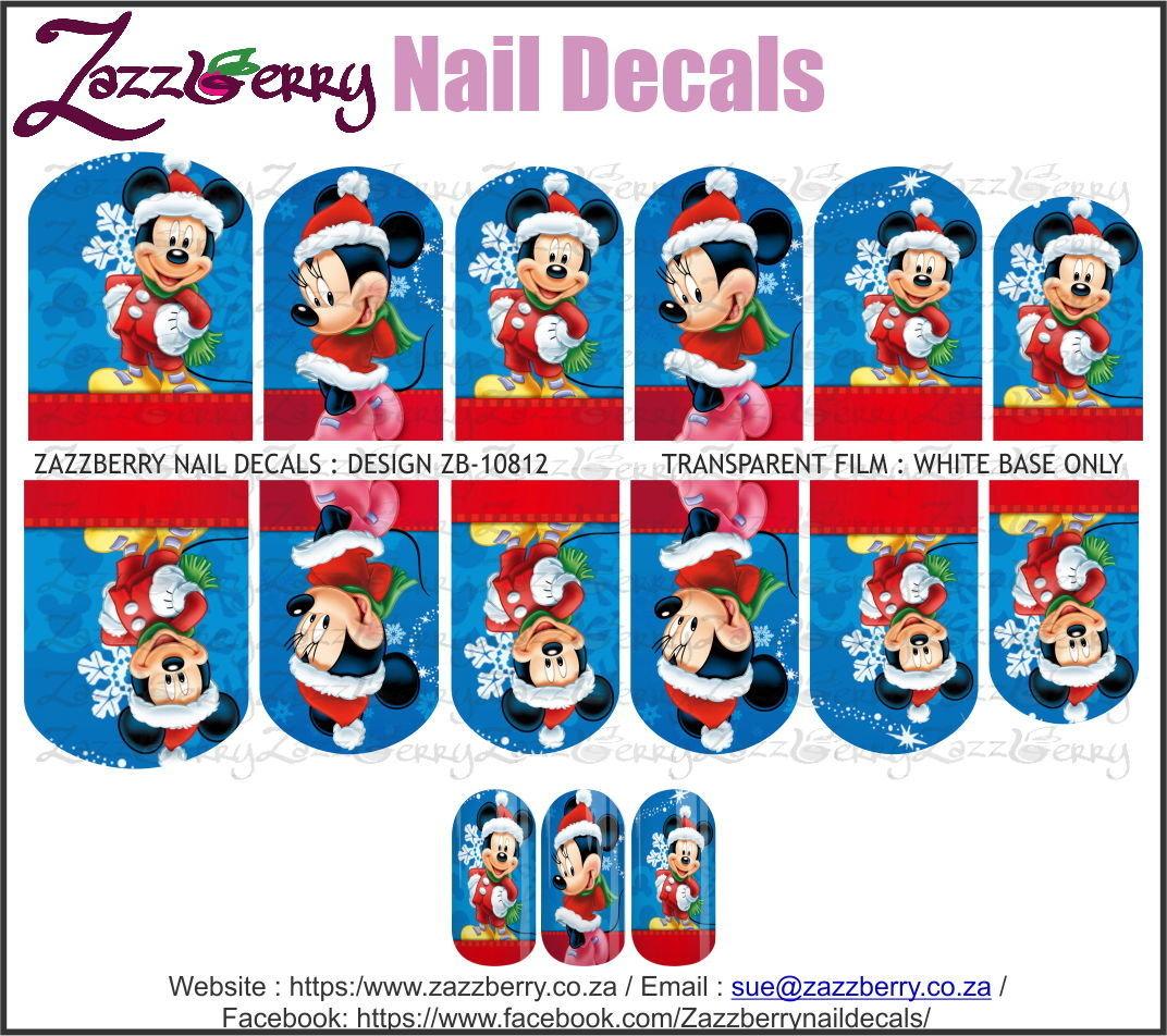 Christmas Mickey and Minnie