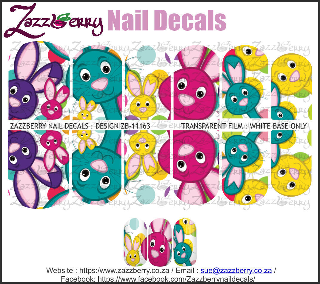 Bright Easter Bunnies