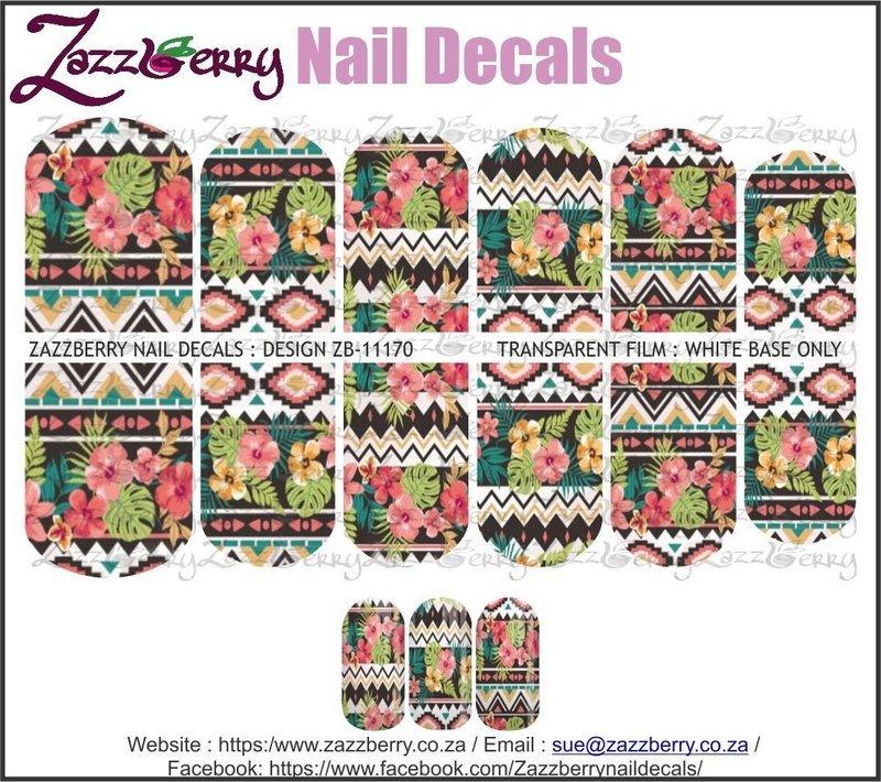 Tropical Flower Pattern II