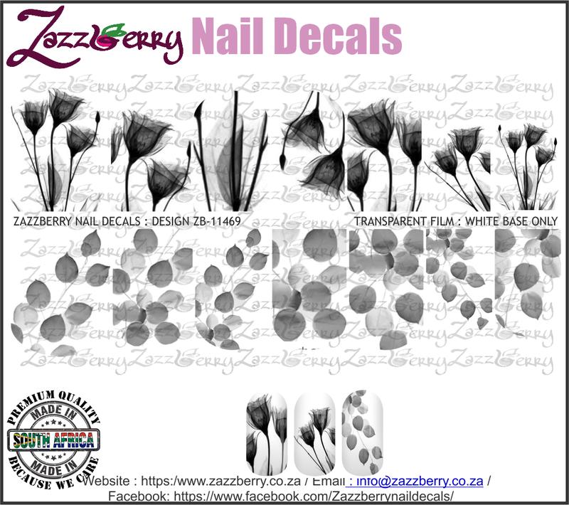 Pressed Flowers Monochrome