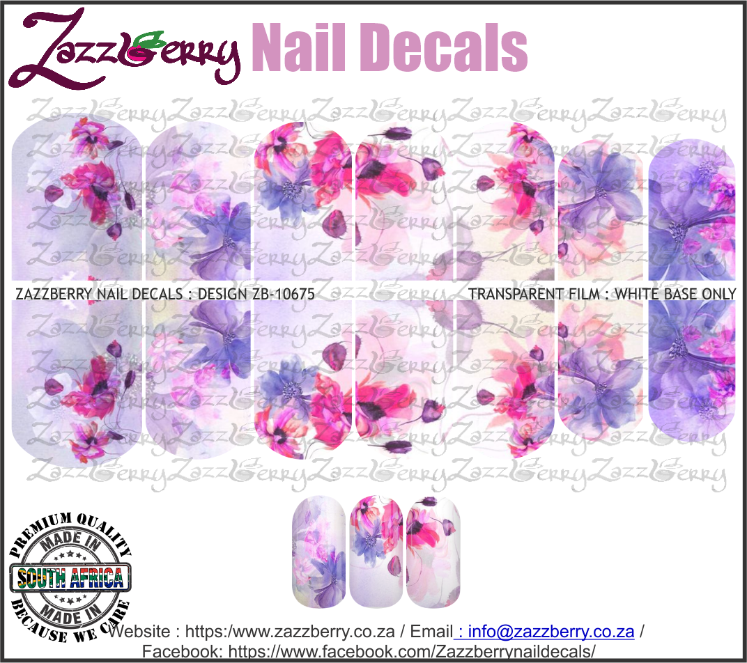 Lilac and Pink Floral