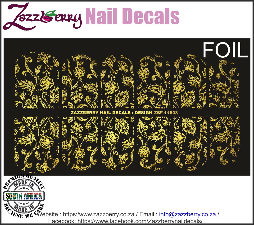 Doodle Flower Lace (Foil)