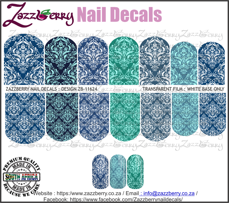 Aqua Damask Mix II