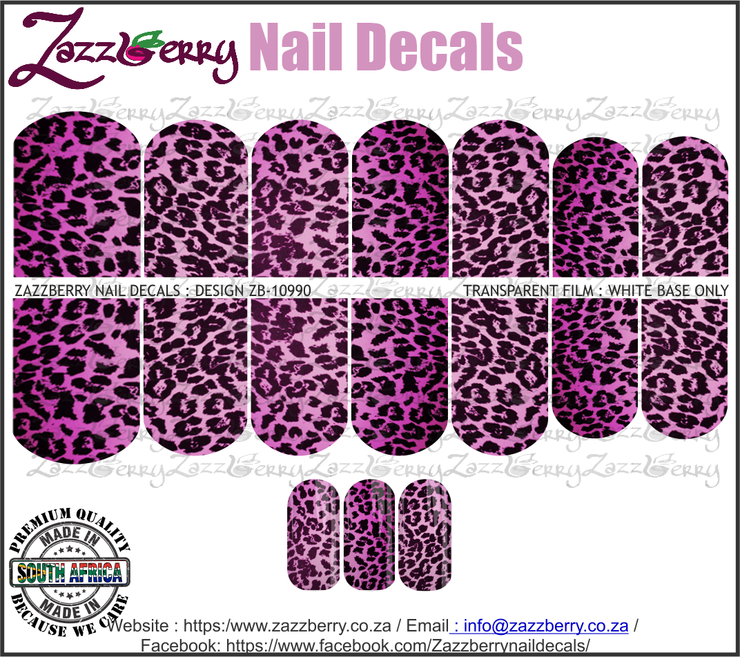 Animal Print Purple