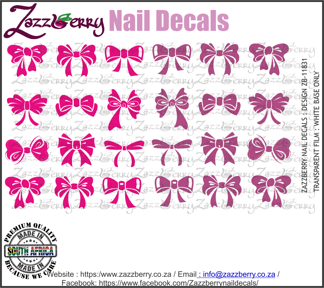 Pink and Purple Bows