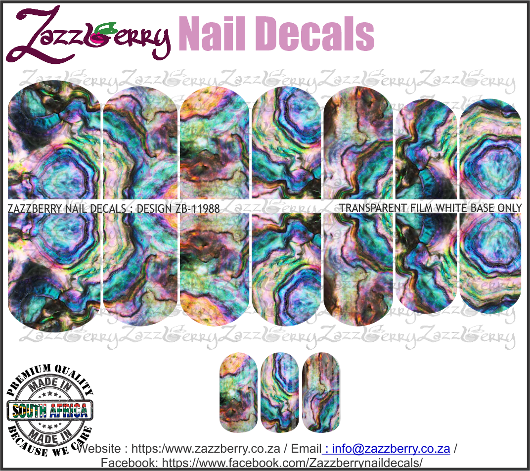 Shell Effect Multi Color
